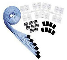 Solar Reel Attachment Strap & Buckle Kit For Inground Swimming Pool HV-7010