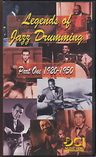 legends of jazz drumming part one 1920-1950 vhs
