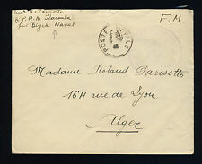 FRANCE 1940 LAC DE LA B.P.A.N. KAROUBA BIZERTE-NAVAL POUR ALGER (F-N281)