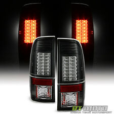 Blk 2008-2016 Ford F250 F350 F450 superduty SD G2 Lumileds LED Tail Lights 08-16