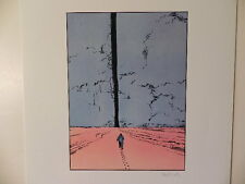 MOEBIUS ART JEAN GIRAUD SIGNED LITHOGRAPH w/COA LA FORCE MYSTERIEUSE #20