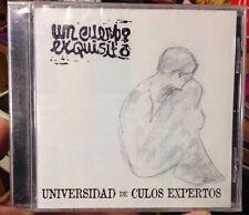 Un Cuerpo Exquisito: Universidad de Culos Expertos (Villa Villakula Rec) Rare CD