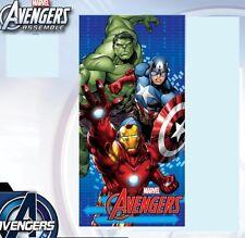 serviette de plage enfant Avengers- drap de bain Avengers