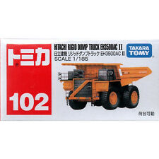 Takara Tomy Tomica #102 Hitachi Rigid Dump Truck EH3500AC II 1/185 Diecast Car