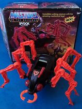 Vintage Toy - MASTERS OF THE UNIVERSE - SPYDOR - He Man 1980's Boxed Working