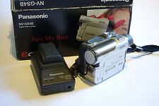 Panasonic NV-GS4B Mini DV Video Camcorder, 10x zoom iLink Firewire, MiniDV, SD