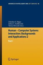 * HUMAN - COMPUTER SYSTEMS INTERACTION: BACKGROUNDS AND APPLICATIONS 2