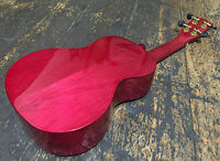 Mahalo Red Gloss 2516 Concert Ukulele With Free Case New 2016 Model