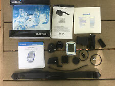 Garmin Edge 500 Bundle, GPS-enabled Cycling Computer Heart Rate Speed Cadence