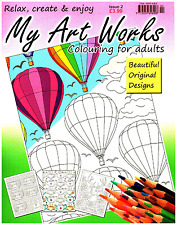 My Art Works issue 2 - Art Therapy - Adult Colouring Book -  NEW