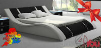 """DOUBLE, KING OR SUPERKING SIZE STORAGE / OTTOMAN BED WITH MATTRESS """"POSEIDON"""""""