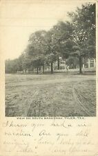 Texas, TX, Tyler, View on South Broadway 1906 Postcard