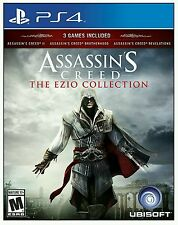 ASSASSIN'S CREED THE EZIO COLLECTION * PLAYSTATION 4 * BRAND NEW FACTORY SEALED!