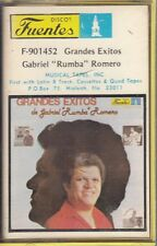 Gabriel Rumba Romero Grandes Exitos CASSETTE New Sealed