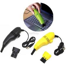 Premium Mini USB Computer Vacuum Keyboard Cleaner auto Brusher Dust Cleaning Kit