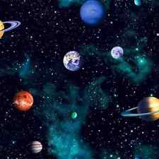 Cosmos Space Wallpaper by Arthouse Solar System Planets Deep Blue 668100