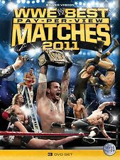Official WWE - The Best PPV Matches of 2011 DVD (3 Disc Set)