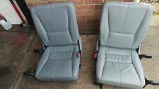 W163 GREY LEATHER  3rd  ROW SEATS, 7 SEATER,