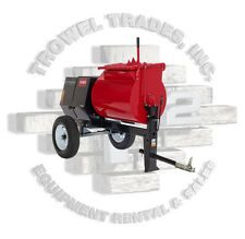 Toro UltraMix MMX-858H-S Stone 855PM Mortar Mixer 8 hp Honda Steel Drum 60220