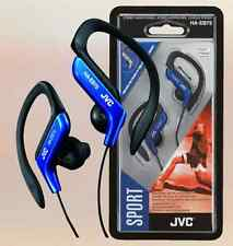 JVC HA-EB75 Sports Headphone with Adjustable Clip - Blue