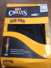 GEO PRO HOT Chillys MEN'S Termico Bottoms/Layer di base. Taglia Large