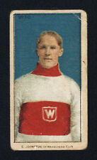 1910-11 C56 IMPERIAL TOBACCO ~ #30 ~ ERNEST JOHNSTON ~ ROOKIE CARD ~ HOF