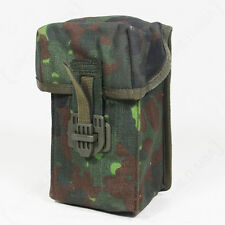 Original German Army G3 MAG POUCH Flecktarn Camo - Camouflage Canvas Ammo Holder
