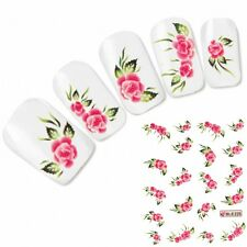 Nagel Sticker Tattoo Nail Art Aufkleber Flower Blume Neu!