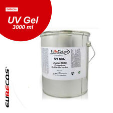 Einphasengel Professional Builder Gel medium* Euro 2000 * 3 Liter UV Gel 3000 ml