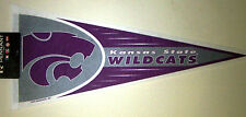 "Kansas State Wildcats Ncaa Full Size 12 x 30"" New Pennant"