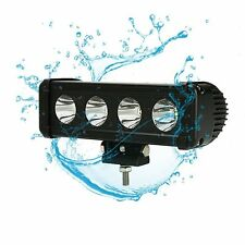 "40W 8"" Long Distance CREE Single Row Led Light Bar Spot Light 10W Led 5000lm"