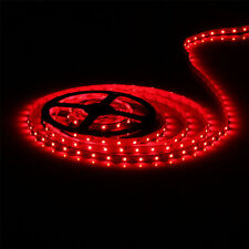 16ft Waterproof Car Boat Accent Light Red Lighting Strip SMD 3528 300 LEDs 5M