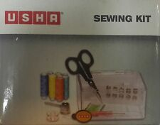 Brand New Usha Sewing Kit  - Contains Acrylic Box with Accessories - A must Need
