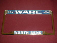 North Bend WA Chevrolet License Plate Frame Tag Metal Embossed Chevy Rare