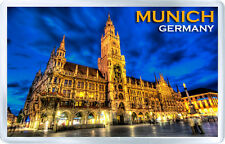 MUNICH GERMANY FRIDGE MAGNET SOUVENIR NEW IMÁN NEVERA