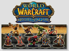 WOW WARCRAFT MINIATURES MINI : COMPLETE CORE SET 70 MINIS w/Cards & EPICS!