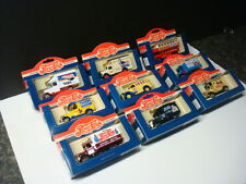 Lledo Collectable Pepsi Cola Die Cast Toy Cars ( 9Total ) Made in England