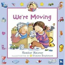 We're Moving (First-Time Stories)-ExLibrary