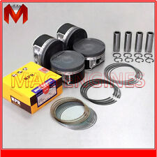 PISTON & RING SET SUBARU EJ205 EJ20-T DOHC 16V FOR IMPREZA WRX FORESTER 2.0 LTR