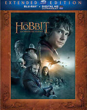 The Hobbit: An Unexpected Journey (Extended Edition) (Blu-ray + UltraViolet) DVD