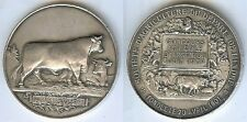 Médaille de table - ARGENTON Indre comice 1908 animaux reproducteurs VERNON Arg