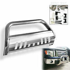 Bestway for 11-16 Ford F250HD / F350HD Bull Bar Brush Push Grill Guard Stainless