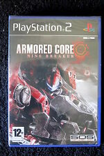 PS2 : ARMORED CORE : NINE BREAKER - Nuovo, risigillato ! Crea il tuo mech !