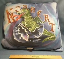 "2001 Springs Harry Potter Throw Pillow 15"" Square Hedwig Owl Norbert Dragon"