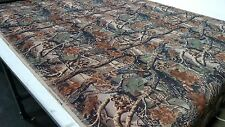"""Mossy Oak Seclusion 3D Flock Velvet Sueded Camo Upholstery Fabric 50"""" W BTY Soft"""