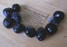 Apache Tears - 10 Natural Apache Tears 17mm - Translucent Rocks