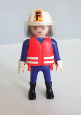 PLAYMOBIL (G2214) POMPIERS - Chef de la Brigade en Tenue d'Intervention 3881