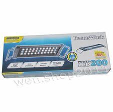 "Genuine BeamsWork Super Bright 33 LED light fixtures 11""-17"" aquarium fish tank"