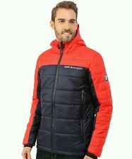 New PUMA BMW Motorsport Padded Jacket Men's Red / Navy Blue 761705 05 Sz Small