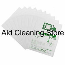 10 X NEW Numatic Henry Hetty James FILTER FLO Vacuum Cleaner Hoover Bags